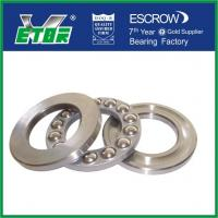 Wholesale Double Direction Thrust Ball Bearing 51105 , Low Noise Small Thrust Bearings  from china suppliers