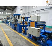 China Double Screw Plastic Wire Production Line / Wire And Cable Making Machine for sale