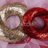 China Round wreath handicrafts hanging ornament for sale