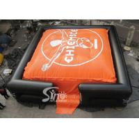 Wholesale 10x10m Outdoor Big BMX Inflatable jump air bag for outdoor stunt trainning from china suppliers