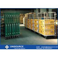 Wholesale Powder Coated Folding Steel Roll Container L1214 * W1013 Mm For Warehouse from china suppliers
