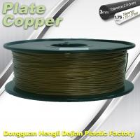 Wholesale 1.75 Mm 3D Printer Metal Filament Aluminum Copper Bronze Red Copper Brass from china suppliers