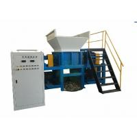 Wholesale Two Shaft Copper Wire Shredder / Steel Scrap Shredder Machine 650*2kw Reducer from china suppliers