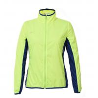 China Mint Cool Womens Coats Anti Shrink Waterproof Sportswear With Oem Service for sale