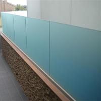 Buy cheap China high quality frameless tempered interior glass railing from wholesalers