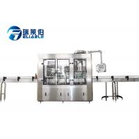 Wholesale Small Scale Soda Glass Bottle Filling Machine / Water Bottling Equipment from china suppliers