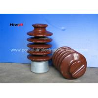 Quality IEC Standard Electrical Porcelain Insulators , 27KV Pin Post Insulator for sale