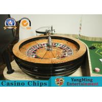 """China VIP Club 32"""" Roulette Wheel Board Solid Wood Turntable Diameter 82cm for sale"""
