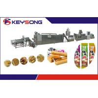 Wholesale Core Filling Snacks Food Making Machine Double Screw Extrusion 304 Stainless Steel from china suppliers
