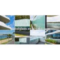 China handrail balustrade balcony railing glass factory