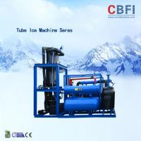 Best Easy Operation Edible Ice Tube Machine Germany Bitzer Engine / Water Cooling wholesale