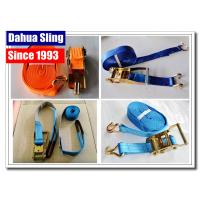 Wholesale PE Webbing Ratchet Strap Parts Cargo Lashing Straps With Hooks 50mm from china suppliers
