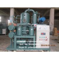 Wholesale High Vacuum Transformer Oil Processing, Dielectric Oil Purification, Oil Regeneration Unit from china suppliers