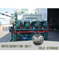Full Automatic System Cold Storage Refrigerator / R22 R404a R134 Modular Cold Rooms for sale