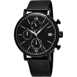 Best Men's Quartz Chronograph Bracelet Watch with Stainless Steel Mesh Bracelet wholesale