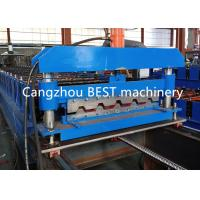 China Fast Speed IBR Roofing Corrugated Iron Sheet Making Machine CE / ISO Pass for sale
