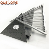 Wholesale Expose Metal Mesh Aluminum Open Cell Clip In Ceiling from china suppliers
