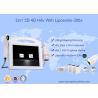 Portable 3D HIFU Machine Liposonix Body Slimming Facial Lifting Beauty Machine for sale