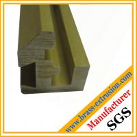 Wholesale brass hardware extrusion profile sections from china suppliers