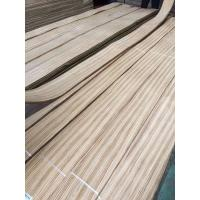 Wholesale 0.60mm Quartered Zebrano Decorative Wood Veneer for Furniture Architectural Woodworks and Designing from china suppliers