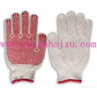 China 7guage Pvc Dotted Gloves on sale
