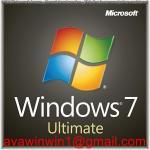 China 100% Original Microsoft Windows 7 License Key Korean Language OEM Full Package for sale