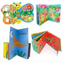 China 8'' X 8'' Custom Magnetic Bookmarks , Hardcover Board Children Story Books for sale