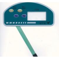 Smart Flexible Automotive Touch Screen Membrane Switch Panel With 4 Buttons