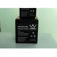 Sealed Rechargeable 12v Agm Deep Cycle Battery For Alarm System