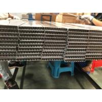 Wholesale Flat Oval Aluminum Radiator Tube With Aluminum Fin Inside For Charge Air Cooler from china suppliers