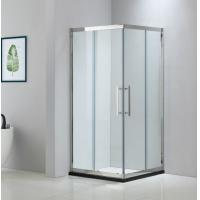 Buy cheap Square stainless steel shower enclosure 900*900 with two sliding doors and two from wholesalers