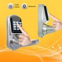 China PIN Code Password Door Locks Fingerprint Identification Easy Setting on sale