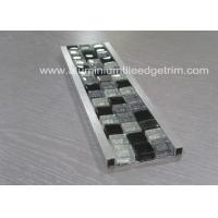 Wholesale Bathroom Mosaic Tile Trim , Mosaic Tile Corner Pieces Wall Liner Different Size from china suppliers