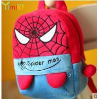 Quality popular canvas backpack spider man for sale