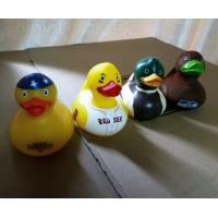 Wholesale Decorated Multi Colored Rubber Ducks, Eco Friendly Fun Bath Toys For Toddlers from china suppliers