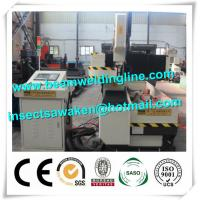 Drilling Tapping H Beam Steel Production Line For Tube , CNC drilling and cutting