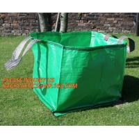 China Home Garden Supplies Reusable Gardening Collapsible Garden Leaf Bags,2Pcs/Set Large Capacity 272L Trash Garden Leaf Weed on sale