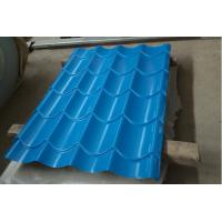 Wholesale Building Corrugated Steel Roofing Sheets / Corrugated Sheet Metal Panels Color Customized from china suppliers