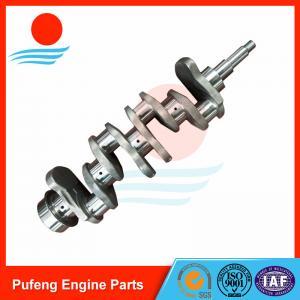 Wholesale Caterpillar crankshaft manufacturer, excavator E70 engine forged crankshaft 4D31 4D31T from china suppliers