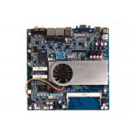Small Thin Industrial Motherboard , Intel® Haswell i5-5200U CPU support 4K HD display
