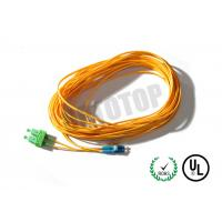 Wholesale Duplex Fiber Optic Patch Cord 2F 2mm Single Mode For Metro / WANs from china suppliers