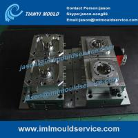 Wholesale plastic sweet packaging containers mould, 500ml iml label container mould, iml moulding from china suppliers