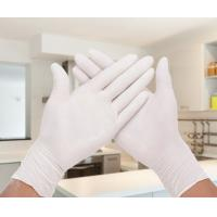 Wholesale Comfortable Powder Free Latex Gloves / Latex Medical Examination Gloves AQL 1.5 from china suppliers