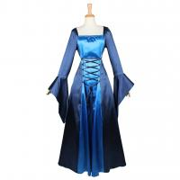 Wholesale Medieval Dress Wholesale XXS to XXXL Custom Made Blue Medieval Renaissance Fancy Victorian Dress Cosplay from china suppliers