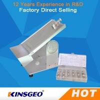 Wholesale 20º ~40°Adjustable Angle Tape Peel Test Machine , Rolling Ball Tack Tester KJ-6032 from china suppliers