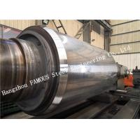 Buy cheap Casting / Forged steel mill work rolls backup roller manufacturing for hot from wholesalers