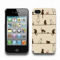 Wholesale IML PC Hard Cases for iPhone 4/4S, Available in Various Sizes, Designs and Logos from china suppliers