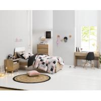 Wholesale Apartment Furniture Space Saving Bedroom Modern Design of Single Bed with Nightstand in Fashion interior Desk from china suppliers