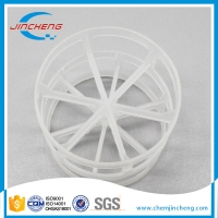Wholesale Chemical Resistant PP PVC 50mm Random Packing Pall Ring from china suppliers