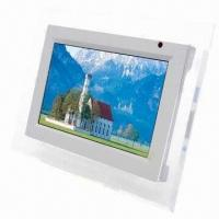 Wholesale Seven-inch Digital Photo Frame, Supports SD and MMC Cards from china suppliers